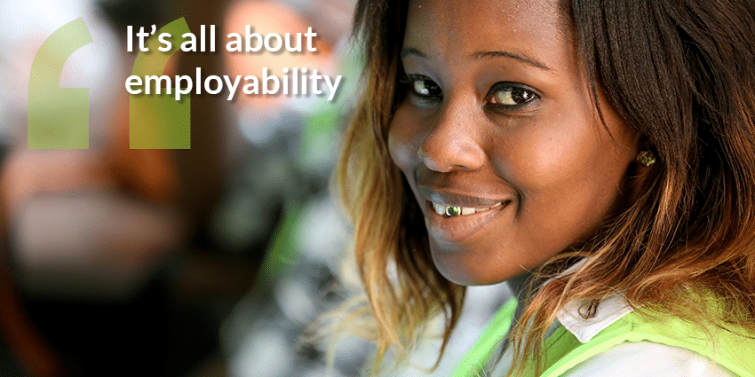 It's all about employability