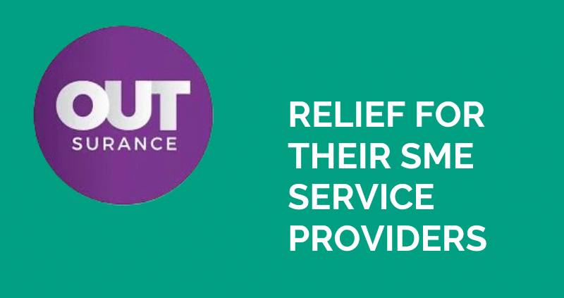OUTsurance Relief for their SME Service Providers