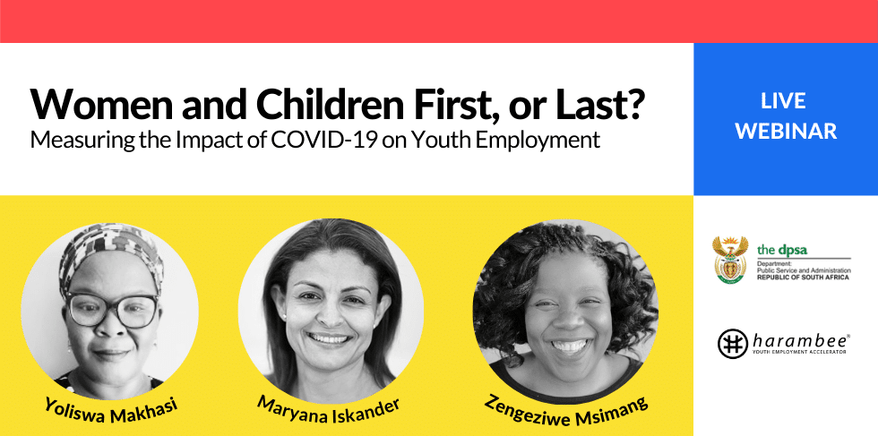 Webinar | Women and Children First, or Last? Measuring the Impact of COVID-19 on Youth Employment